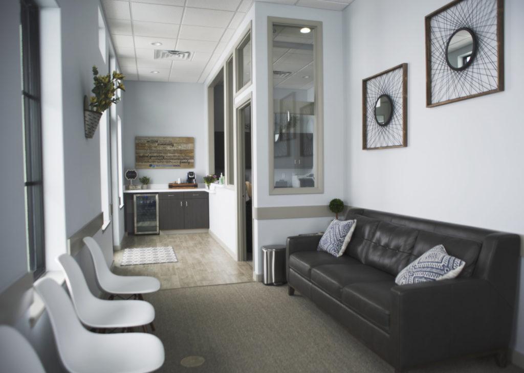 Mid-Columbia Dental Office waiting room